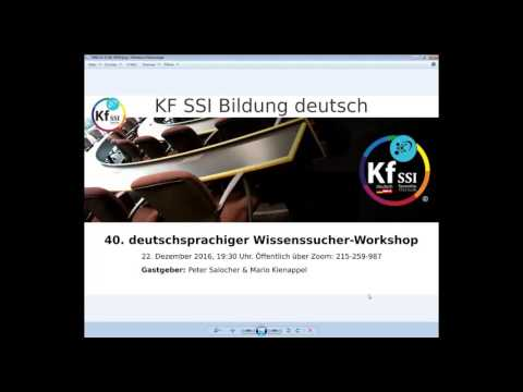 2016 12 22 PM Public Teachings in German - Öffentliche Schulungen in Deutsch