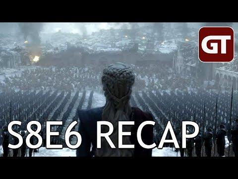 Game Of Thrones S8E6 Im Recap: Ende Gut, Alles Dumm - GoT Talk German / Deutsch
