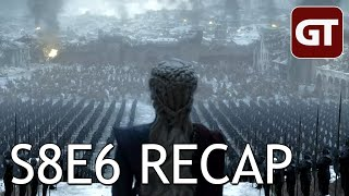 Thumbnail für Game of Thrones S8E6 im Recap: Ende gut, alles dumm - GoT Talk German / Deutsch
