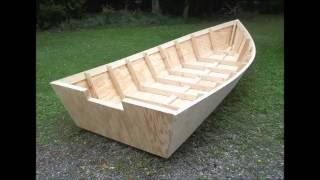 Wood Boat Plans Stitch & Glue - Large Wooden Boat Building Mp3