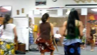 Puili (Split Bamboo) Hula Practice - Riverside, CA (Part II)