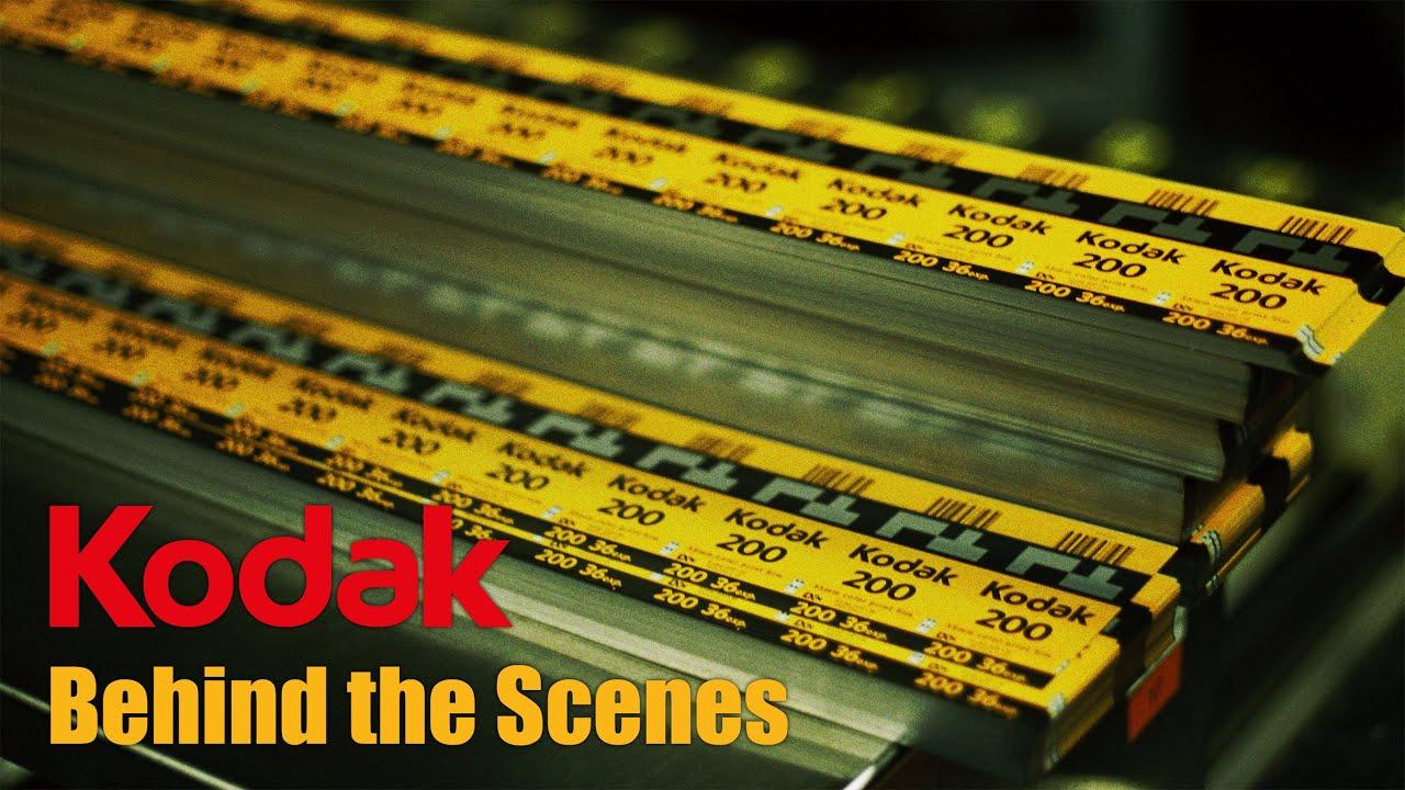 Come viene prodotta la pellicola Kodak? questo video ripercorre tutto il processo