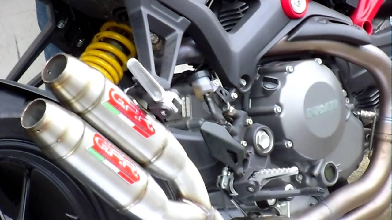 Gpr Italy Exhaust Ducati Monster