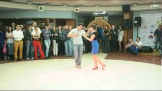 Emin and Samira on First Official Salsa LA Championship of Azerbaijan