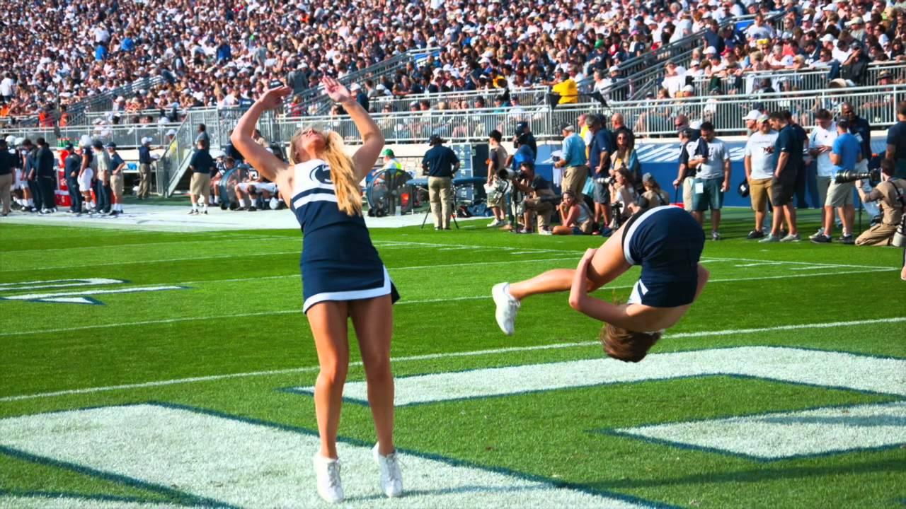 penn state cheerleader naked