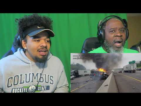 Dad Reacts to Crazy Car Wrecks in 2018!
