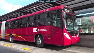 Metrobús (Ciudad de México) 2017 - BRT in Mexico