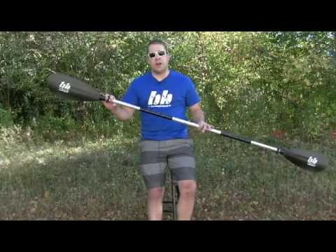 Whisper Kayak Paddle from Bending Branches