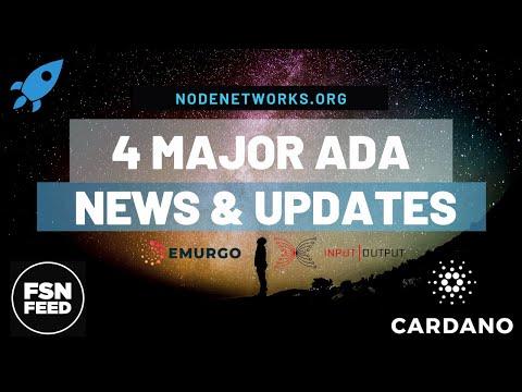 4 Major Cardano 2020 Updates! Hydra, Shelly TestNet, Daedalus, Yoroi, MainNet Date?! - Node Networks
