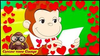 Curioso come George 🐵❤️Buon San Valentino, George - Speciale San Valentino ❤️🐵Cartoni per Bambini