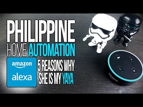 Can The Amazon Echo Dot Work In The Philippines? Alexa Is My YAYA In My Smart Home!