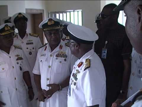 Chief Of Naval Staff Inspects NNS Centenary Warship