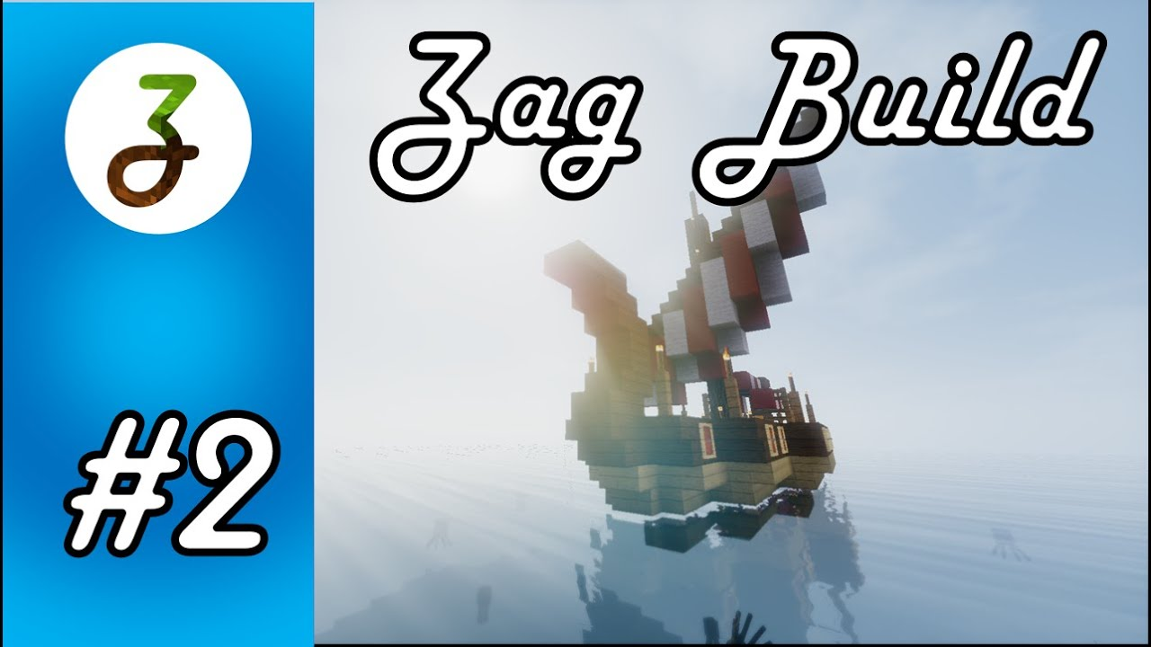 Play a new version of the classic raft wars game on desktop or mobile browser. Minecraft Zag Build Little Drakkar 2 Youtube