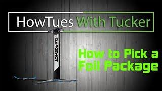 Slingshot FSurf /SUP Foil Set: How Tues with Tucker