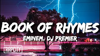 Eminem - Book Of Rhymes (Lyrics)
