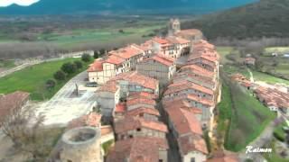 El pueblo de frias en Tilt Shift ( Efecto maqueta ) Burgos