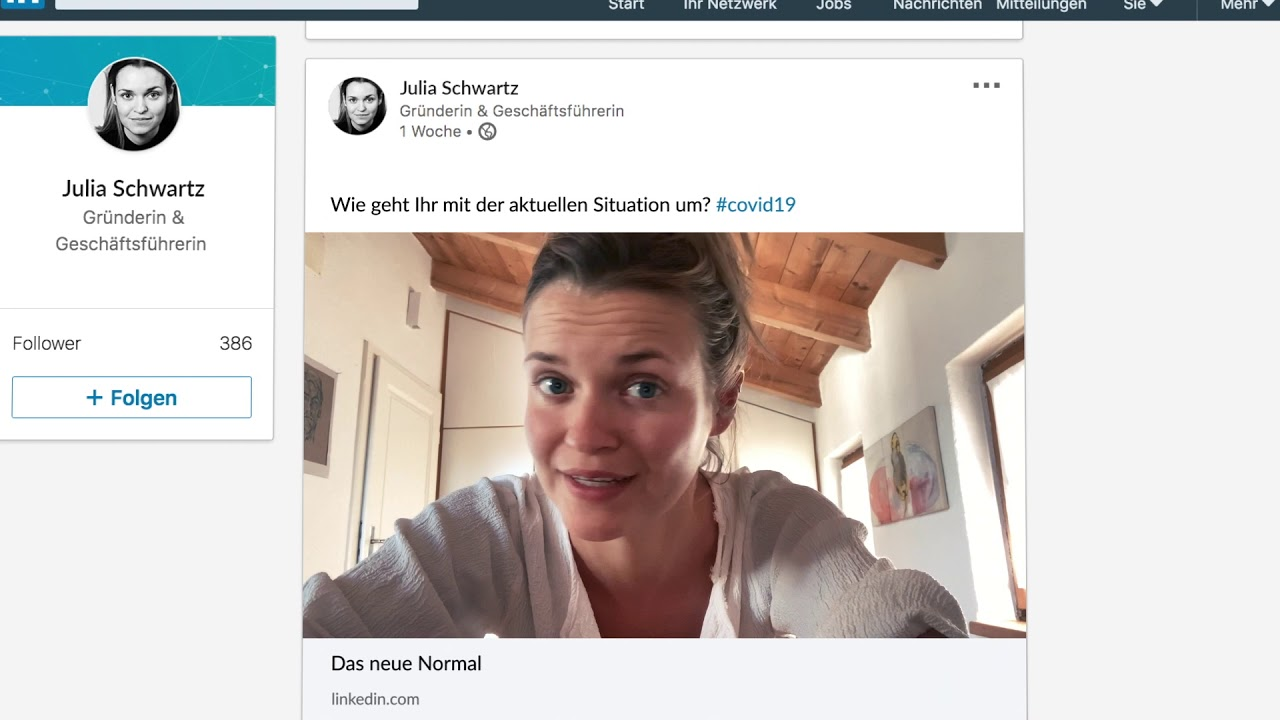 LinkedIn - Das neue Normal