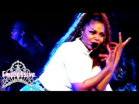 "Janet Jackson slays ""State of the World"" tour (2017) Lafayette, LA"