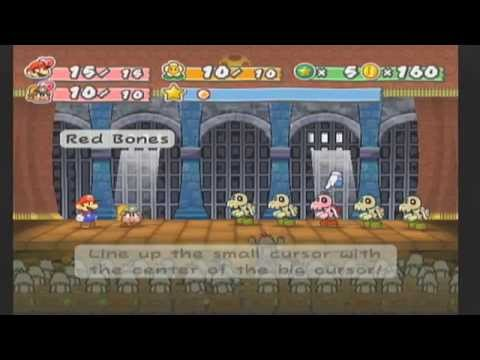 Slim Plays Paper Mario: TTYD - #5. These Bones Were Made For Fighting