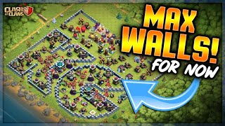 MAX WALLS!  For now...