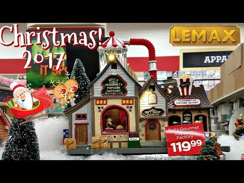 Michaels Lemax Christmas Village 2017