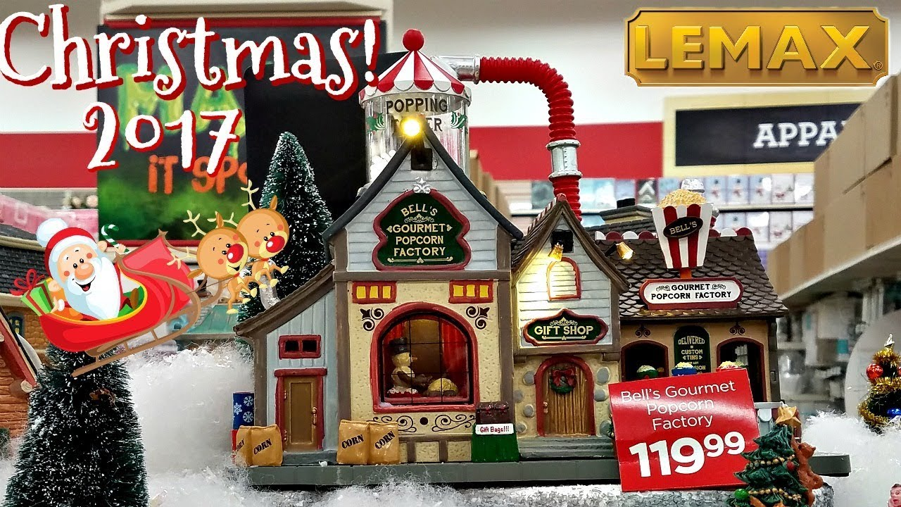 michaels lemax lemaxchristmas - Michaels Christmas Decorations 2017