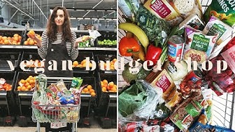 £14 VEGAN WEEKLY BUDGET GROCERY SHOP AT ASDA 💰