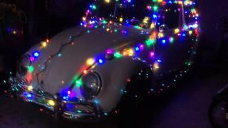 Christmas 2013 1965 VW Bug Decorated