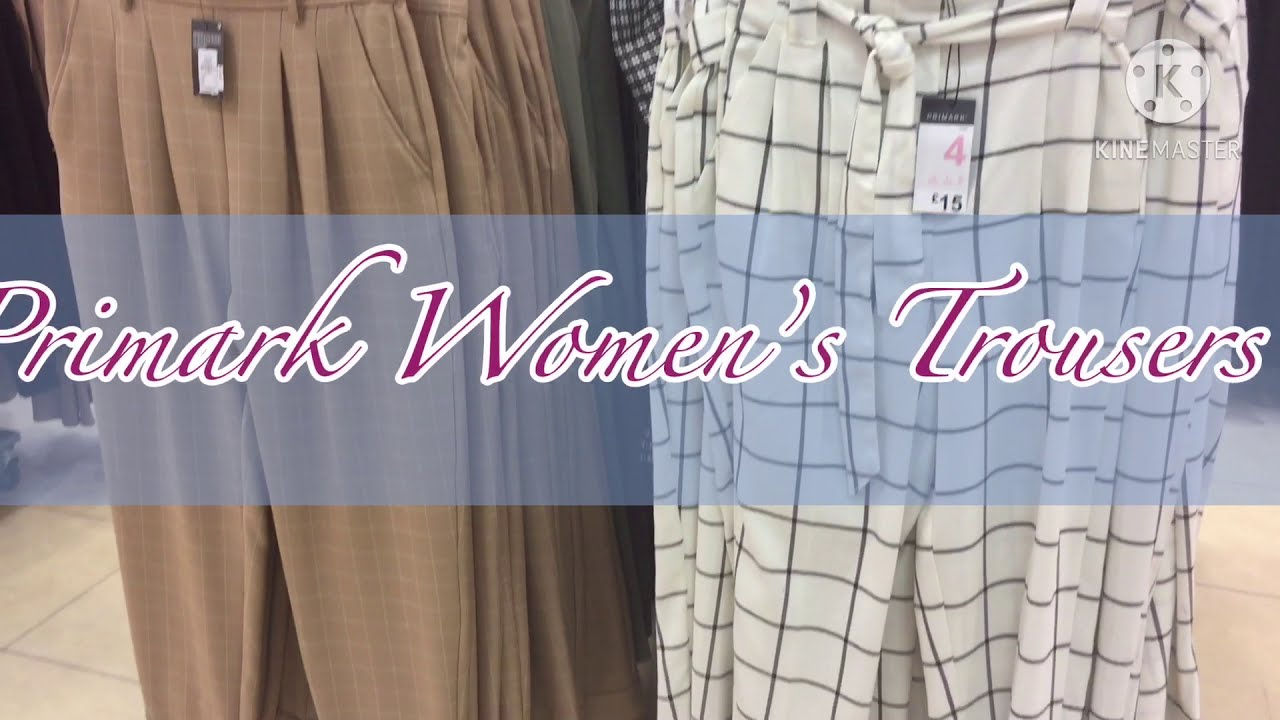 What's New In Primark ,  Women's Trousers, October 2020