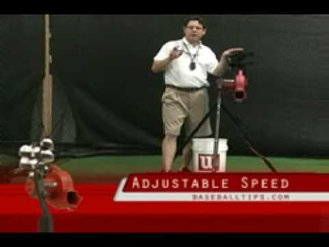 heater base hit pitching machine