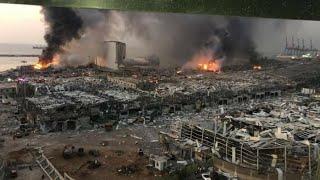 إنفجار ضخم من كل زاوية يهز العاصمة اللبنانية بيروت