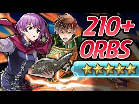 Fire Emblem Heroes - 210+ Orbs Summons: ECHOES OF MYSTERY!