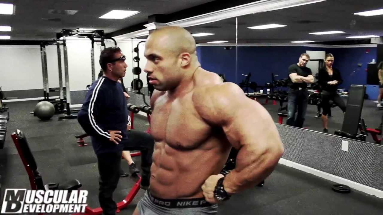 Jon Delarosa - Shoulders - Bodybuilding Motivation - YouTube