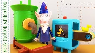 The Elf Factory Wise Old Owl 39 s Toys Making Machine Ben Holly 39 s Little Kingdom Stop Motion Anima