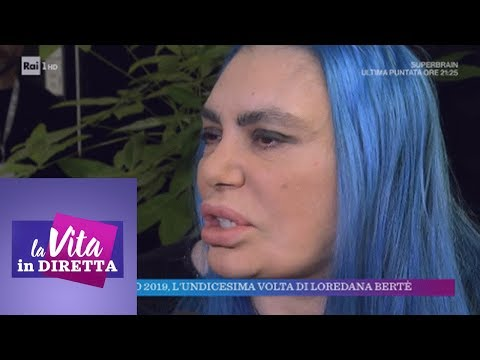 Sanremo 2019, l'undicesima volta di Loredana Bertè - La vita in diretta 01/02/2019