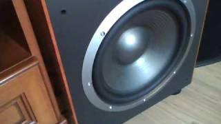 JBL ES250P Bass Test
