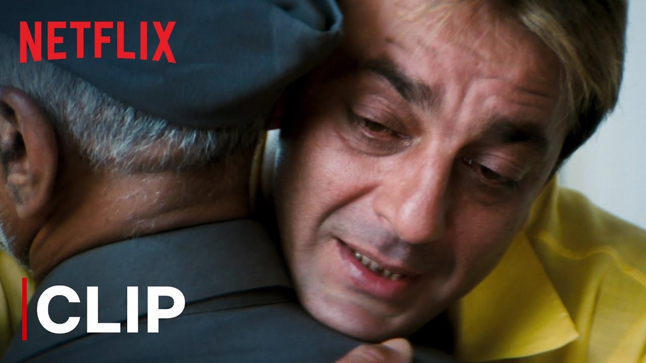 Download Munna Gives Jaadu Ki Jhappi To Maqsood Bhai | Sanjay Dutt | Munna Bhai M.B.B.S. | Netflix India