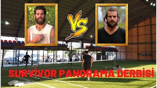 Hakan Hatipoğlu Team vs Bora Edin Team Ayak Tenisi Maçı  Survivor Panorama Derbisi