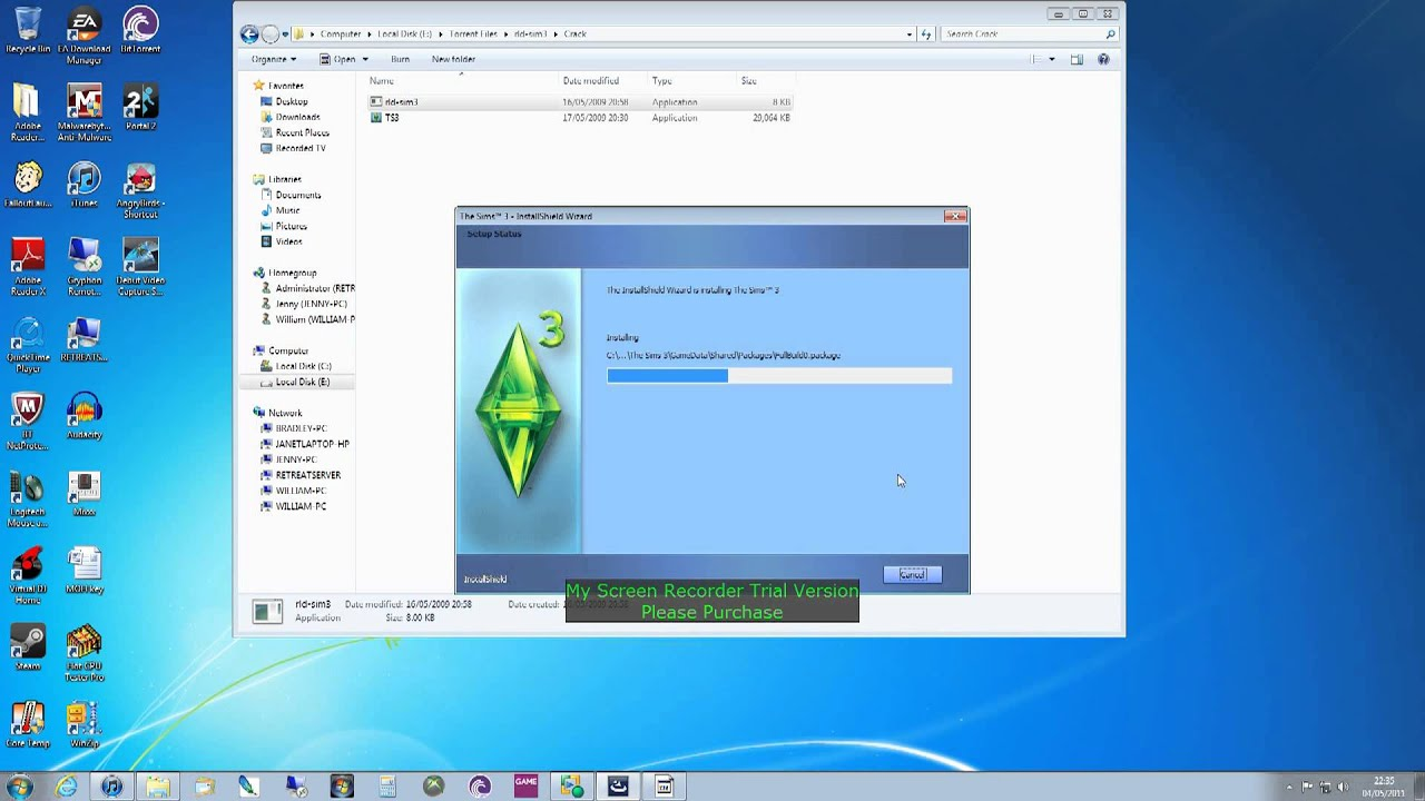 how to install and crack the sims 3 reloaded youtube rh youtube com Sims 3 Pets Serial Key Sims 3 Product Code Unused