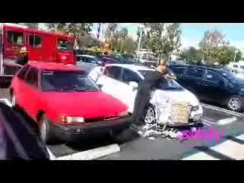 Baby Locked in the Car 911 Action in  North Hills CA