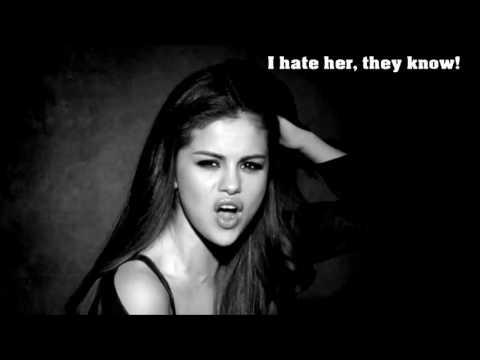 Selena Gomez Kill Em With Kindness Reversed With Lyrics