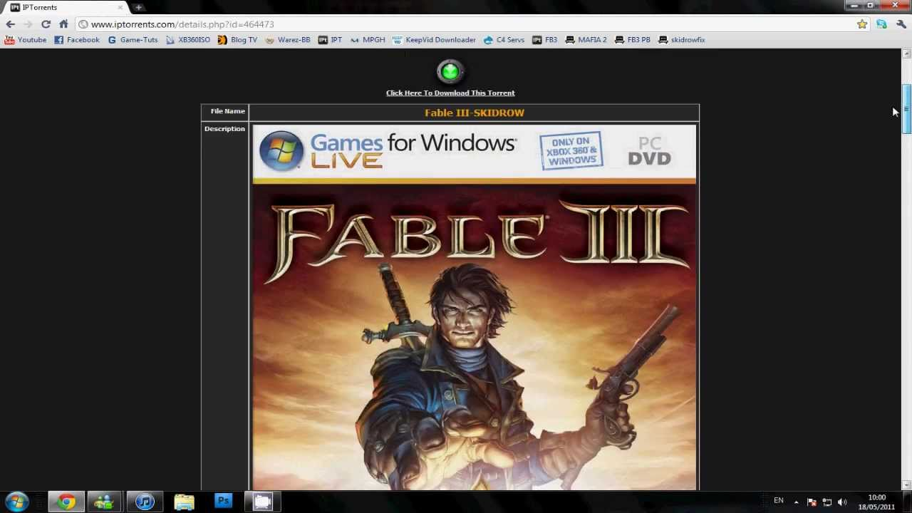 How to Get Fable III Free for PC - SKIDROW