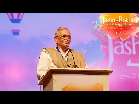 Gulzar On Urdu Poets And Poetry I Jashn-e-Rekhta 2017