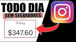 Ganhe dinheiro com o Instagram HOJE (0 seguidores necessários)