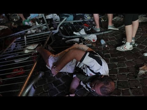 Around 200 injured in Turin stampede involving fans watching Champions League Final