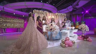 Quinceañera trends and inspo: Rose gold everything, ice sculptures and more