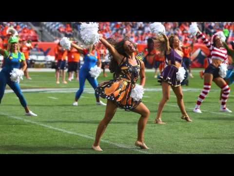 Denver Broncos Cheerleaders - Denver vs. San Diego 10/30/16