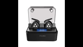 Wireless Earbuds, Syllable Truly Wireless Headphones | iPhone iPad,Smartphones Tablets,Laptop Review