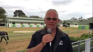 Darren Dance Post 2014 Caulfield Cup Barrier Draw