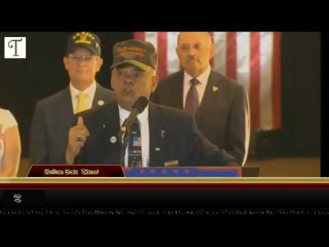 MARINE speaks TRUTH at TRUMP press conference from TRUMP Tower in New York City